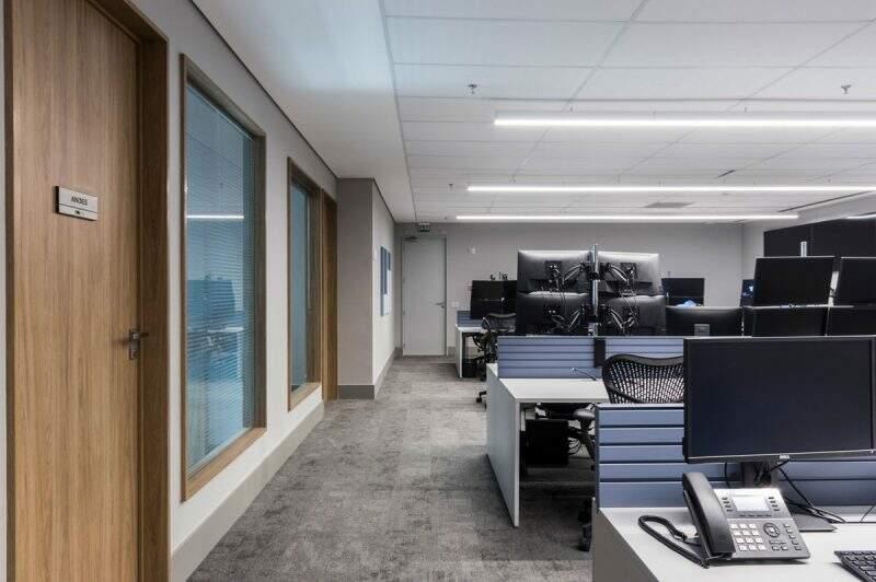 Projeto de escritório da Blueline