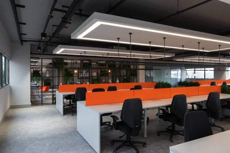 design de interiores corporativo: gerencianet